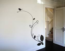 Stylish Simple Wall Paintings Designs On Decor With Home Interior .