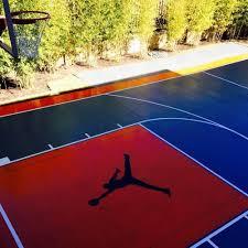 basketball court striping flower mound