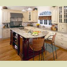 cream kitchen cabinets with chocolate glaze kitchens design on roller cabinet doors under the garbage cans dark wood floors plywood thickness