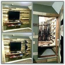 closet door storage ideas to secret shelves pantry wire rack gu