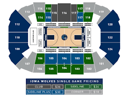 Iowa Event Center Seating Chart Iowa Events Center Online Ticket Office Iowa Wolves Vs