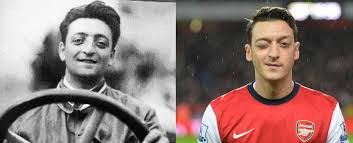 Reincarnation is the state of living human born again and being starts a new life in a different body after death. Mesut Ozil Looks Like Enzo Ferrari Lookslike