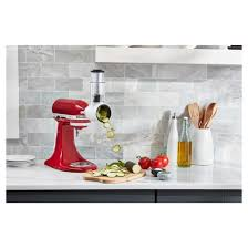 kitchenaid mixer attachments slicer. kitchenaid® fresh prep slicer/shredder attachment - ksmvsa kitchenaid mixer attachments slicer e