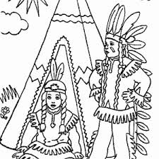 Small Picture Native American Coloring Pages All Coloring Page
