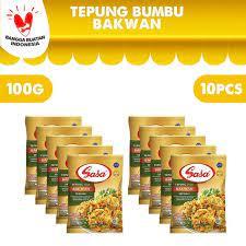 Tepung bumbu sasa 250gr bakwan spesial: Jual Sasa Tepung Bumbu Bakwan 100gr 10 Pcs Kota Tangerang Selatan Sasa Official Store Tokopedia