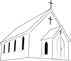 Small Picture First Presbyterian Church Coloring Page Free Church Coloring