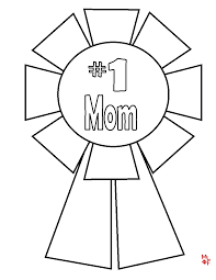 Mom Coloring Pages Happy Birthday Free For Kids 8241186 Attachments