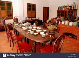 Great Kitchen Georgetown Malaysia The Staff Dining Table In The Great Kitchen