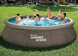 summer waves pools above ground pool sets