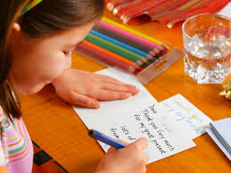 Should Kids Be Forced To Write Thank You Notes Today Com