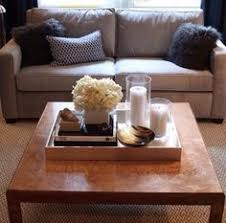 How To Decorate A Coffee Table Tray How to Make Your Home Look Less Cluttered Interior styling 3