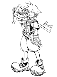 Small Picture Kingdom Hearts 2 Cover Sora HD Photos Gallery