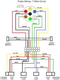 round 7 pin trailer plug wiring diagram wiring diagram simonand 6 way trailer plug to 7 way adapter at 6 Pin Trailer Plug Wiring Diagram