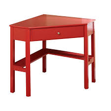 Corner tables furniture Triangular Small Red Corner Table With One Drawer And One Storage Shelf Home Stratosphere Finding The Best Small Corner Tables 11 Beauties Featured