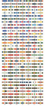Army Ribbon Chart 2017 78 Credible Mcjrotc Ribbon Rack Builder