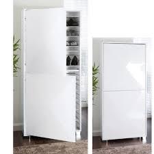 Space gloss shoe cupboard white. Loading zoom