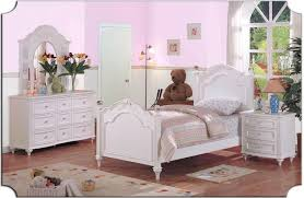 Furniture: 3 Piece Girl Bedroom Furniture With Pink Bedroom Wall ...