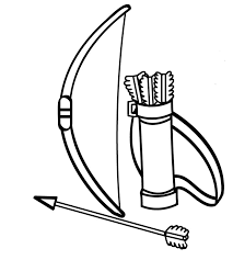 Small Picture Target Bow And Arrow Coloring PageBowPrintable Coloring Pages