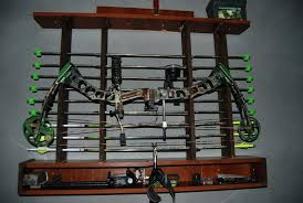 compound bow rack bow storage rack wooden bow rack compound bow rack for utv compound bow rack