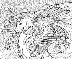 Free Unicorn Coloring Pages Pdf Printable Unicorn Coloring Pages