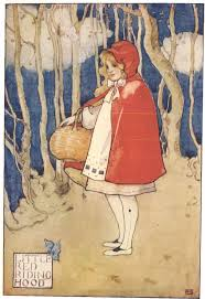 texts often represent women as victims in a patriarchal society  english little red riding hood