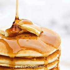sweet maple syrup subsute