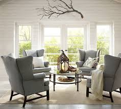 Upholstered Chairs Living Room Upholstered Wingback Chairs Living Room Contemporary With None