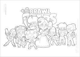 Op deze pagina hebben we de leukste brawl stars. Brawl Stars Coloring Pages Coloringbay