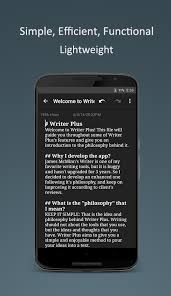 writer plus write on the go android apps on google play writer plus write on the go screenshot