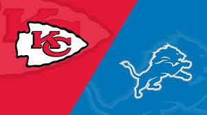 Kansas City Chiefs At Detroit Lions Matchup Preview 9 29 19