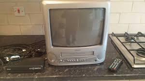 tv video combi. tv video combi portable plus free-view box tv