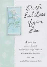 Loss Of A Son Quotes Magnificent Loss Of Son Sympathy Quotes Best Quote 48
