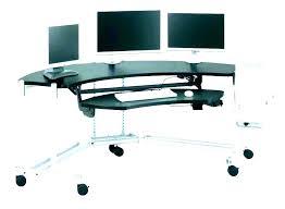 mobile desk cart computer desk cart mobile laptop rolling compact portable ca under desk laptop