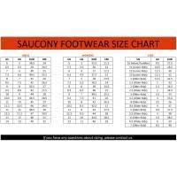 Saucony Toddler Size Chart Inches Saucony Kids Size Chart Www Bedowntowndaytona Com