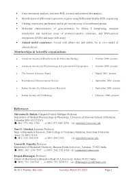 Model Resume Best Biotechnology Resume Samples Resume Sample Biotech Biotechnology Job