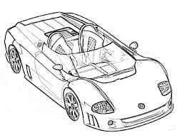 Free Printable Race Car Coloring Pages