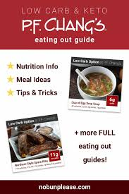 eating keto at p f chang s nutrition information meal ideas tips tricks