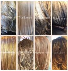 Blonde Hair Color Chart By Jennifer