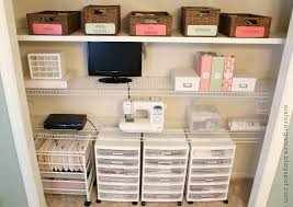 office in closet ideas. O Is For Organize: A Crafty/Office Closet Office In Ideas I