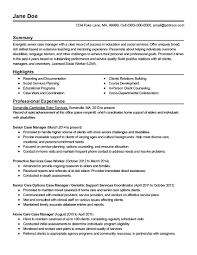 Professional Educator Resume Examples Walmart Sales Walmart Manager