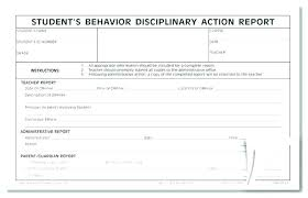 Disciplinary Write Up Forms Employee Disciplinary Action Form Template Free Reprimand