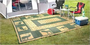 outdoor rugs rug contemporary camping patio mat rv