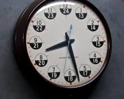 Time Clock Chart Conversion Military Time Chart Everything About 24 Hour Clock