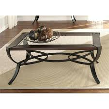 sienna coffee table liberty furniture skylights glass top coffee table in sienna pangea sienna coffee table