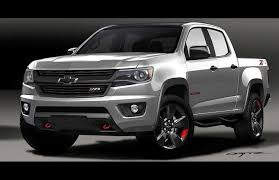 Colorado black chevy colorado : 2016 Chevy Colorado Red Line Concept Reveal | GM Authority