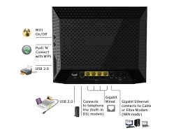 d6300 modem routers networking home netgear product diagram