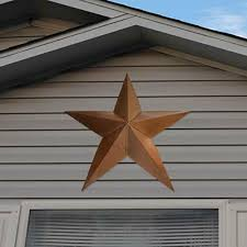 Get better time with your family by drinking tea at morning also seems as a great moment that can be done in patio. Large Metal Star Wall Art Barn Rustic Outdoor Patriotic Decoration Lawn Stake For Sale Online Ebay