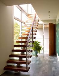 staircase railing design ideas wooden stair with central str interior stairs railing ideas