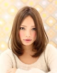 ミディアムワンカールke 193 ヘアカタログ髪型ヘアスタイル
