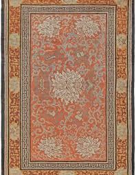 vintage silk chinese rug bb5626